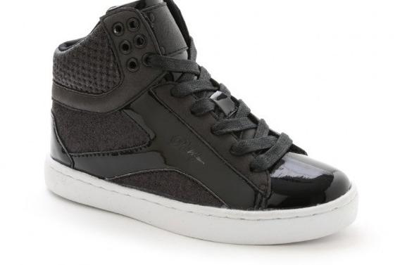 Zapatos Unisex Tipo Botas Pastry Love - Negras - Talla 37