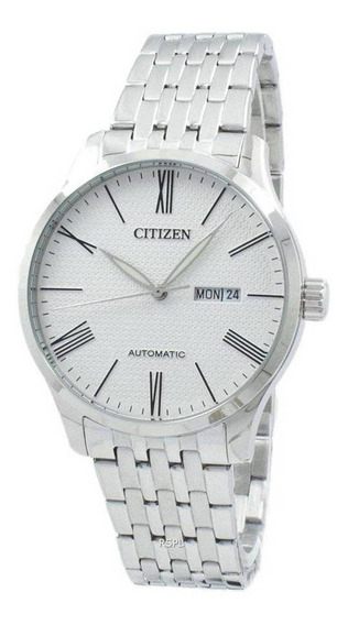 Relógio Citizen Masculino Ref: Tz20804q Automático Prateado