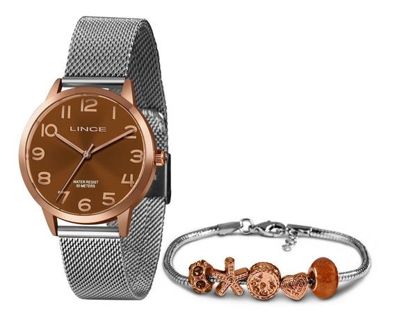 Relógio Lince Feminino Rose Gold - Lrt4444l B2rb