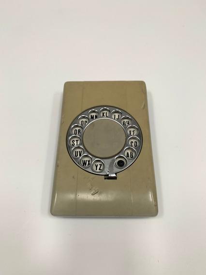 Antigua Agenda Telefónica Tipo Teléfono A Disco