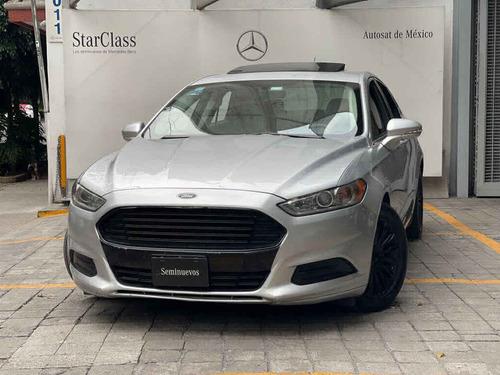 Imagen 1 de 15 de Ford Fusion 2015 4p Se Luxury L4/2.0/t Aut