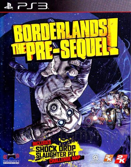 Borderlands The Pre-sequel Ps3 Original Lacrado Mídia Física