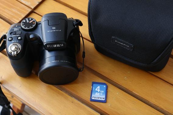 Kit Câmera Fujifilm Perfeito Estado Zoom 18x Seminova S2950