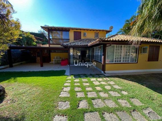 Casa Com 4 Dormitórios À Venda, 200 M² Por R$ 950.000,00 - Ferradura - Armação Dos Búzios/rj - Ca1034