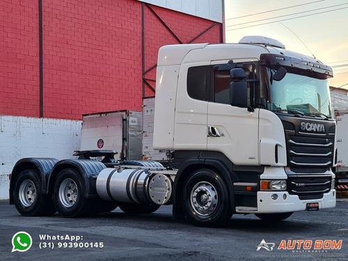 Scania R440 A 6x4 Optcruise Ñ É Mb Axor 2826 Mb Axor 2831