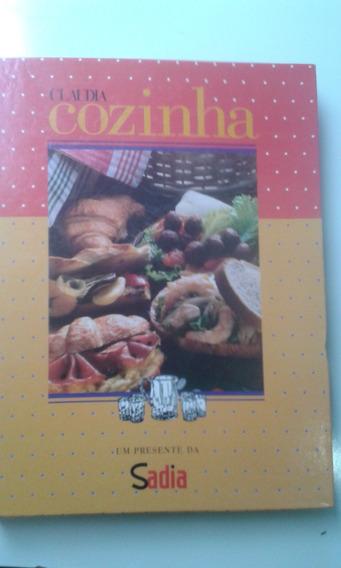 Livro Com 18 Revistas Cláudia Cozinha Encadernadas 94/95