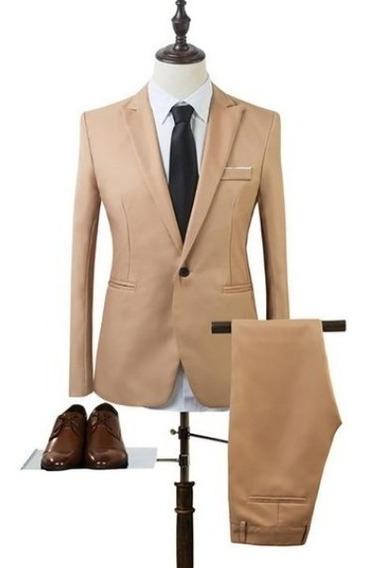 Terno Importado Slim Fit Blazer + Calça Várias Cores