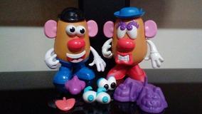 Sr. E Sra. Cabeça De Batata Mr. Potato Head Usados.