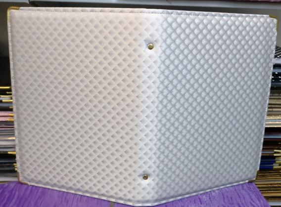 Kit 10 Pastas Para Coral N°4 Prateada ( Média ) 20x26cm