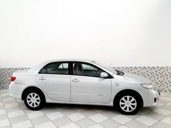 Toyota Corolla Xli 1.8 Flex 2010 Prata Automático