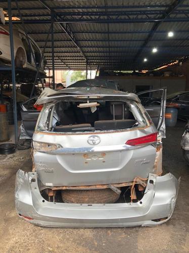 Imagem 1 de 5 de Sucata Toyota Hilux Sw4 2020 Prata Flex 159cv