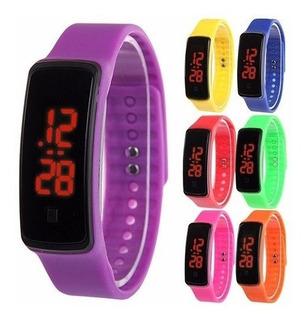 Reloj Led Running Silicona Digital Pack X 3 Envio Gratis
