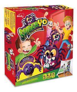 Juego De Destreza Spider Yo Atrapa Los Insectos Original