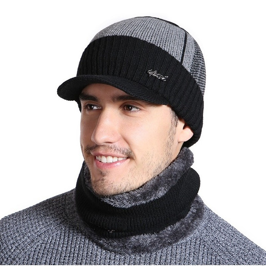 Boné Gorro De Inverno Bonnet Em Lã Tapa Orelhas Lançamento