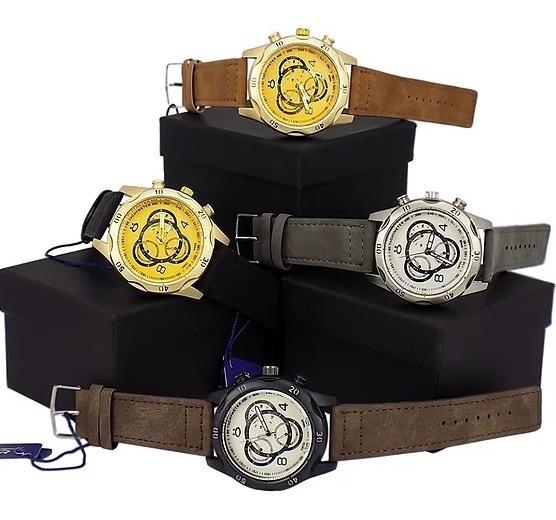 4 Relógios Masculino Original Orizom Mega Promoção