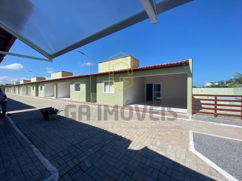 Imagem 1 de 29 de Casa Verde E Amarela Em Marechal C/ Energia Solar E Área De Lazer! - 815