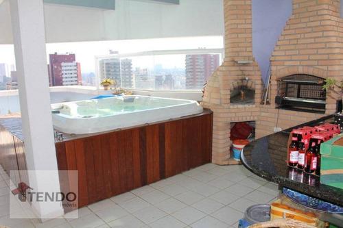 Imagem 1 de 18 de Imob01  - Cobertura 172 M² - Venda - 3 Dormitórios - 1 Suíte - Centro - São Bernardo Do Campo/sp - Co0079