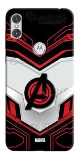 Estuche Forro Marvel Avengers Endgame, Samsung, Huawei