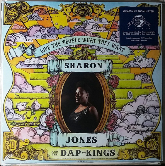 Sharon Jones Lp Give The People What They Want Lacrado.