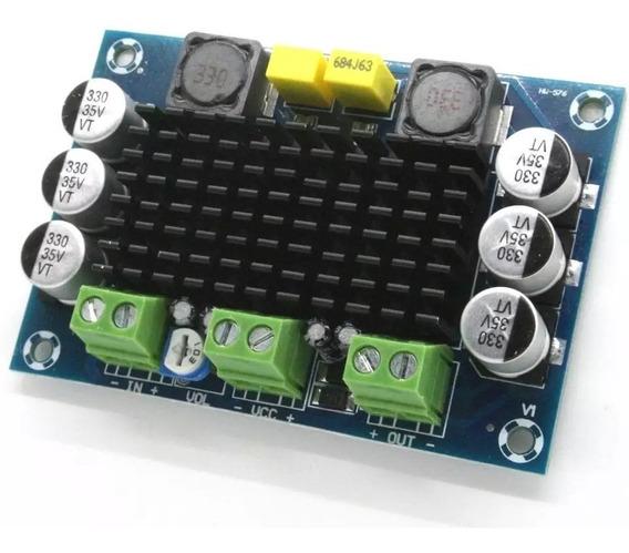 Kit 3 Amplificadores 100wrms Ativaçao Caixa Acústica Residen