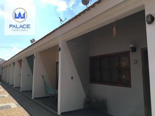Casa À Venda, 35 M² Por R$ 110.000,00 - Colinas Do Piracicaba (ártemis) - Piracicaba/sp - Ca0473