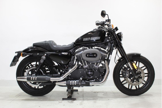 Harley Davidson Xl 1200 Cx Roadster 2017 Preta