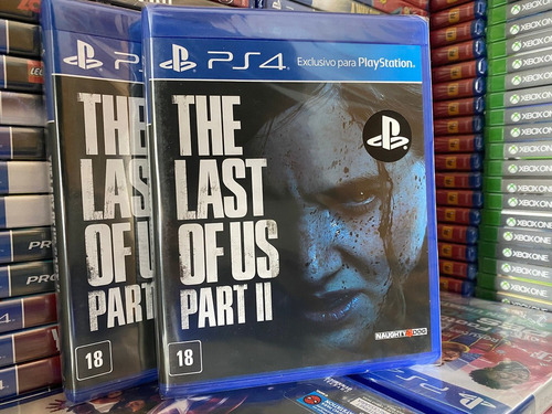 The Last Of Us Part Ii Ps4 Mídia Física Pronta Entrega Pt-br