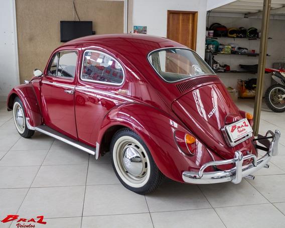 Volkswagen Fusca Vermelho 1969