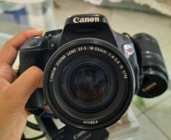 Câmera Canon Modelo Rebel T3i