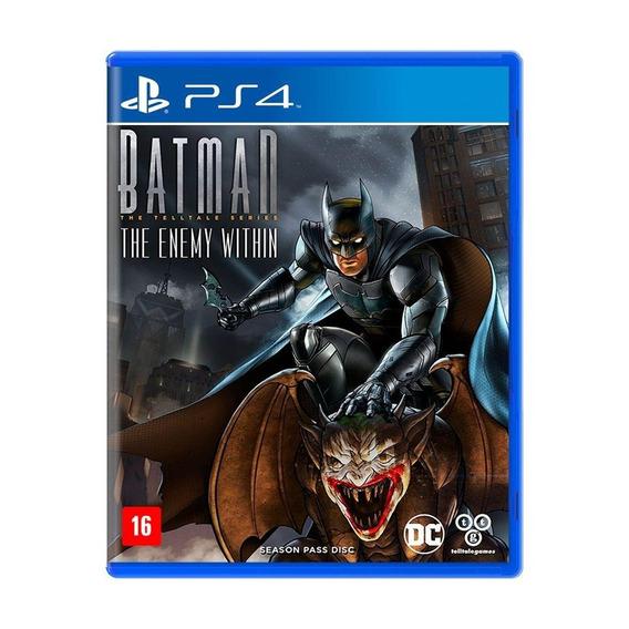 Batman The Enemy Within Ps4 Mídia Física Novo Lacrado