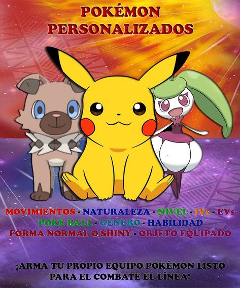 Pokémon Competitivos Personalizados - Ultra Sol / Luna 3ds!