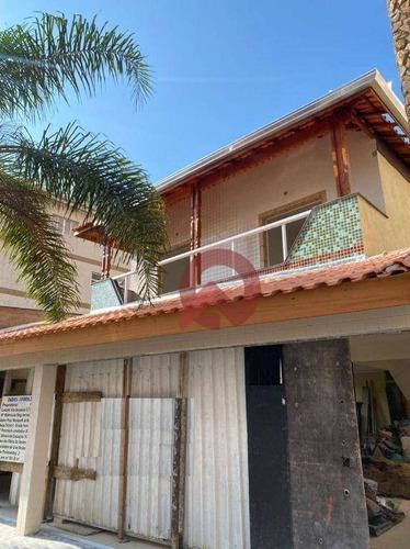 Imagem 1 de 12 de Sobrado Com 2 Dormitórios À Venda, 52 M² Por R$ 240.000 - Aviação - Praia Grande/sp - So0070