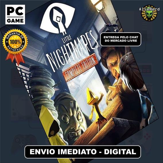 Little Nightmares + Todas Expansões - Português - Pc Digital