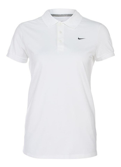 Playera Nike Mujer Blanco Polo Sptcasl 540700100