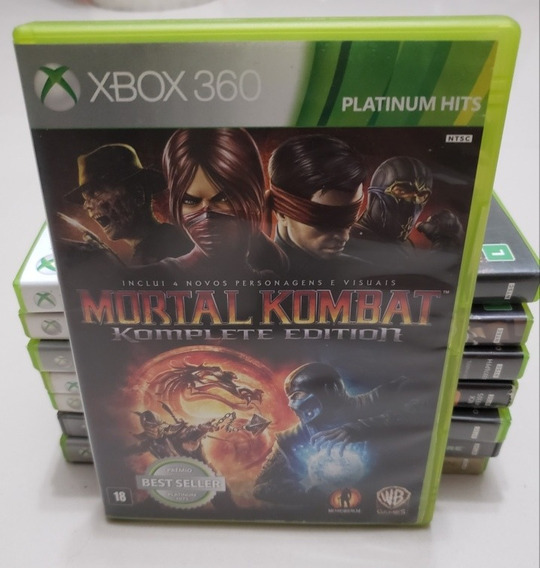 Mortal Kombat Komplete - Xbox 360 - Mídia Física Original
