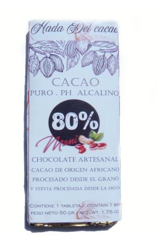 Imagen 1 de 1 de Combo X5 Cacao 80% Clasico Mani Almendra Naranjita Pasas Cho