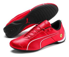 Tênis Puma Scuderia Ferrari Future Cat Ultra - Vermelh