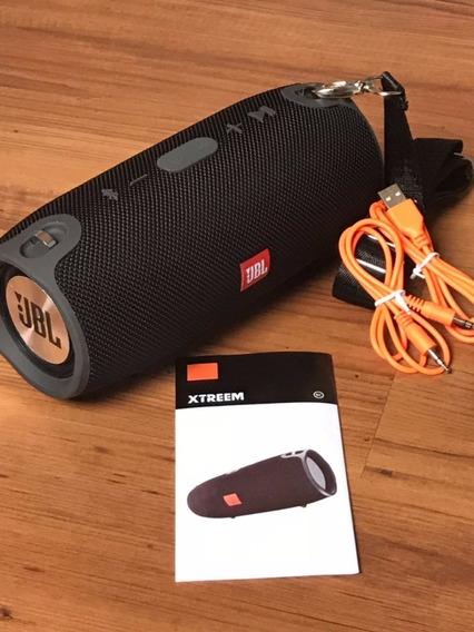 Caixa Som Bluetooth Xtreme Mini Potente 40w Rms Radio Fm - Sem Juros