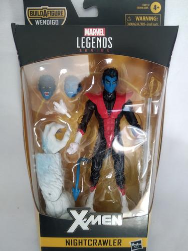 Nightcrawler Baf Wendigo X-force X-men Marvel Legends