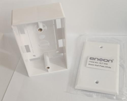Imagen 1 de 5 de Caja, Tapa Ciega Tamaño Estándar Plástico Resistente Alt-947