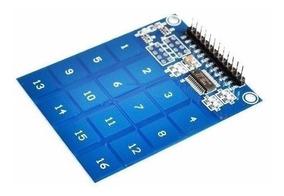 Teclado Touch Capacitivo 16 Teclas Ttp229 Arduino