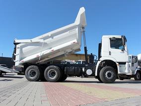 Vw 31280 6x4 2014 Caçamba Meia Cana = Cargo Ford Volvo