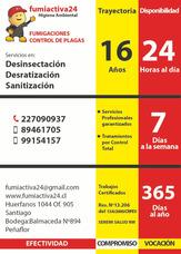 Fumigacion De Araña De Rincón-atención 24hrs.todos Los Dias