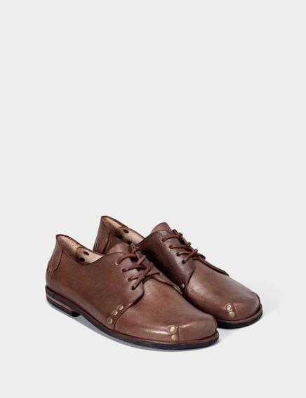 Zapatos Caboclo De Cuero Hechos A Mano