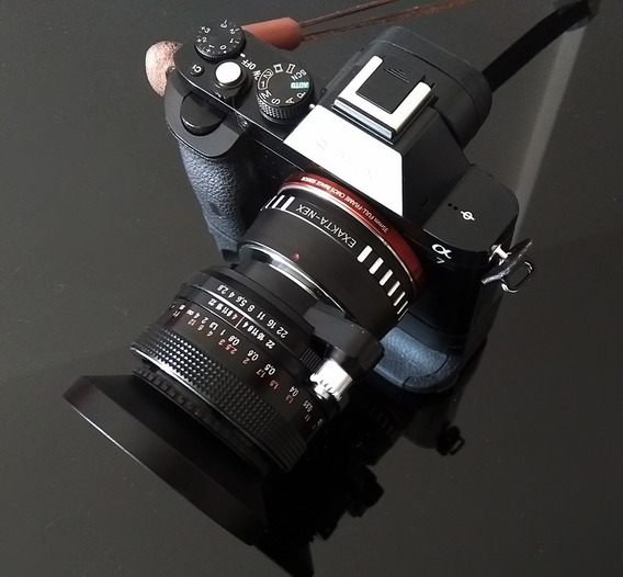 Lente Carl Zeiss Flektogon Makro 35mm + Adapt. Sony E-mount