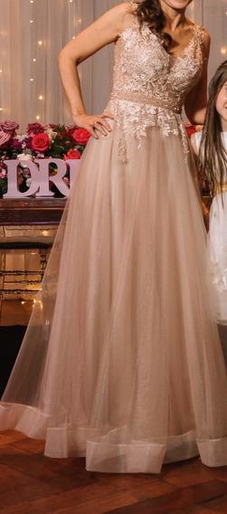 Vestido De Fiesta. 15 Años. Madrinas. Etc. Importado!