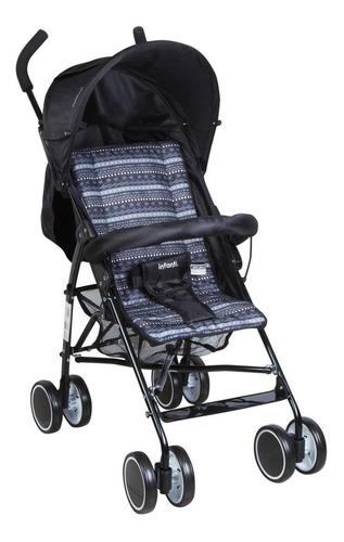 Imagen 1 de 3 de Cochecito de bebé Infanti Twister paragüitas negro