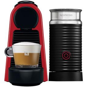 Máquina De Café Nespresso Essenza Mini, Vermelha Com Aerocci
