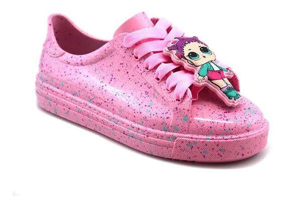 Tenis Lol Colors Grendene Rosa Candy - 22125