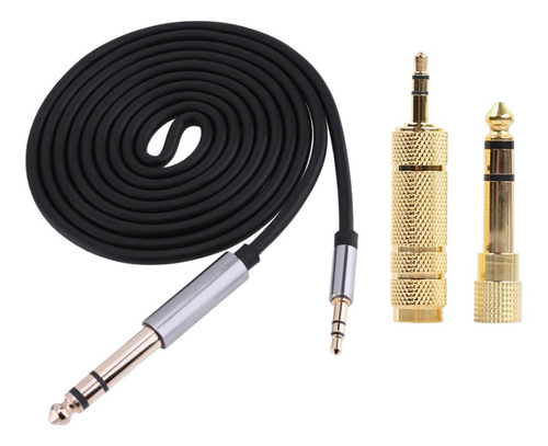 Imagen 1 de 6 de Cable De Audio Estéreo Macho De 1.5m 3.5mm 1/8 -inchmacho A